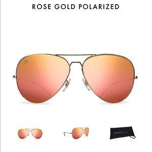 Shady Rays Rose Gold Aviators